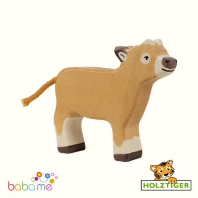 Holztiger calf brown standing