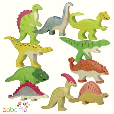 HOLZTIGER Dinosaur Collection