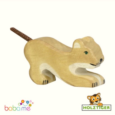 Holztiger Lion small playing