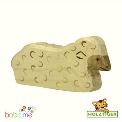 Holztiger Sheep lying 80074