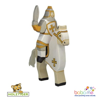 Holztiger Tournament knight white