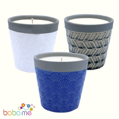 Home is Home Candle Pots