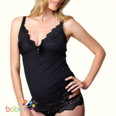Hot Milk Ruffle My Feathers Camisole