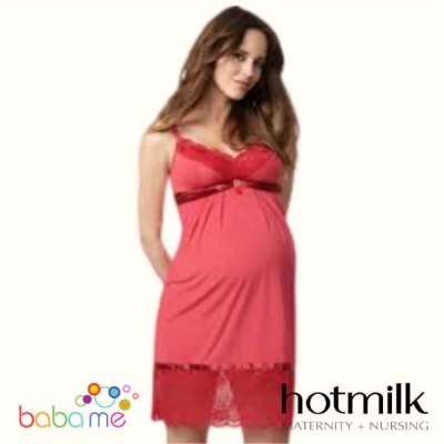 Hot Milk Show Stopping Elegance Nursing Chemise