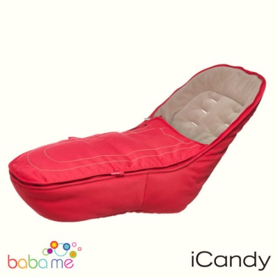 Icandy Peach 3 Footmuff Sherbet