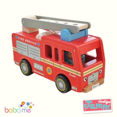 Indigo Jamm Freddie Fire engine toy