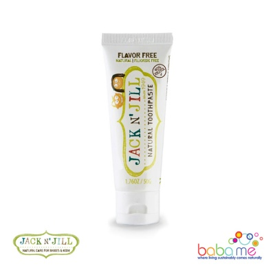Jack N' Jill Natural Toothpaste Flavour Free