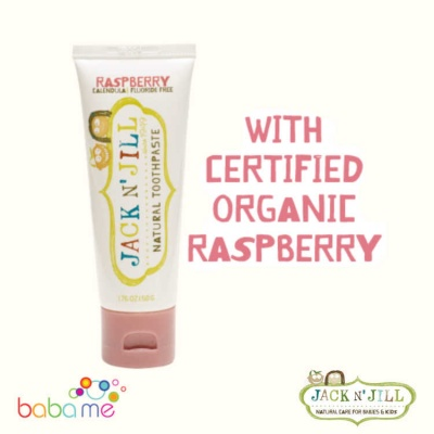 Jack N' Jill Natural Toothpaste Organic Raspberry