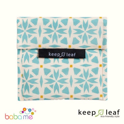 Keep Leaf Large Baggie - Geo