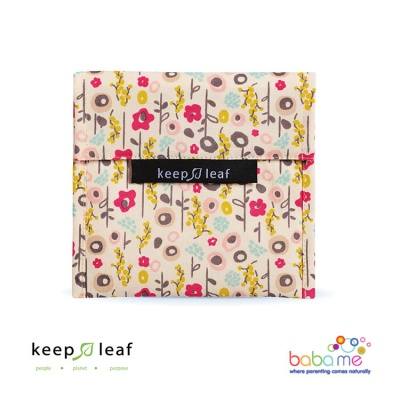 Keep Leaf Large Baggie - Bloom