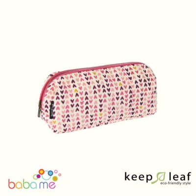 Keep Leaf Make Up Bag - Hearts