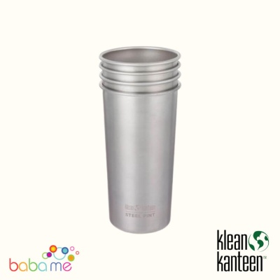 Klean Kanteen 592ml Steel Cup 4 pack