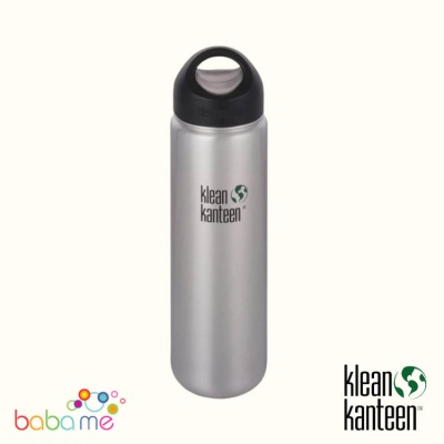 Klean Kanteen 800ml Wide Mouth Stainless