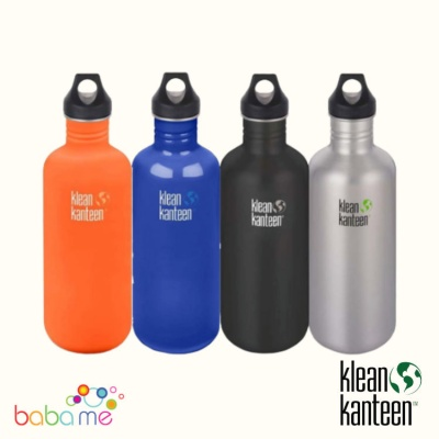 Klean Kanteen Classic Bottle Single Wall 1182ml Loop Cap