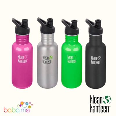 Klean Kanteen Classic Bottle Single Wall 532ml Sport Cap