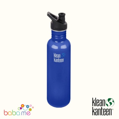 Klean Kanteen Classic Bottle Single Wall 800ml Sport Cap