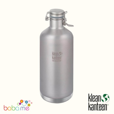 Klean Kanteen Growler 1900ml Brushed Vacuum