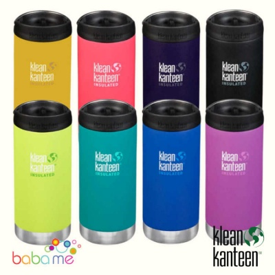 Klean Kanteen Tkwide 355ml/12oz Cafe Cap