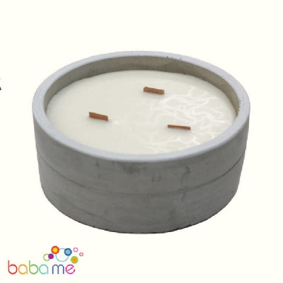 Soy Candle LargeCrushed Vanilla & Orange
