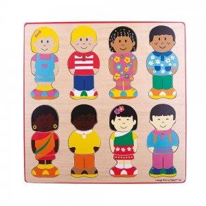 Bigjigs Little Friends Puzzle