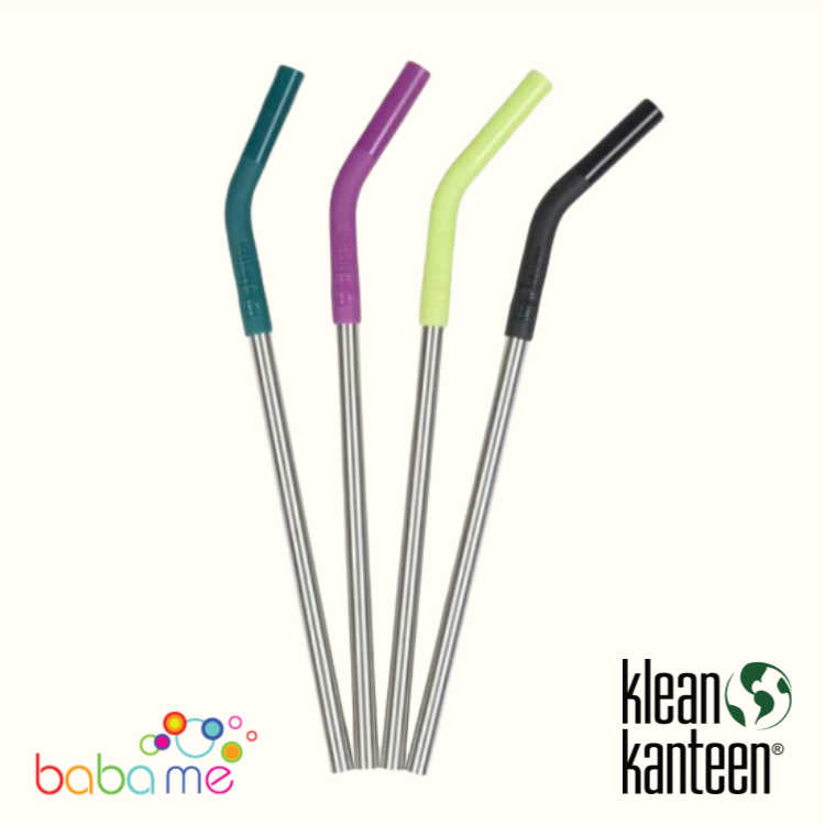 Klean Kanteen Straw 4 Pack 8Mm