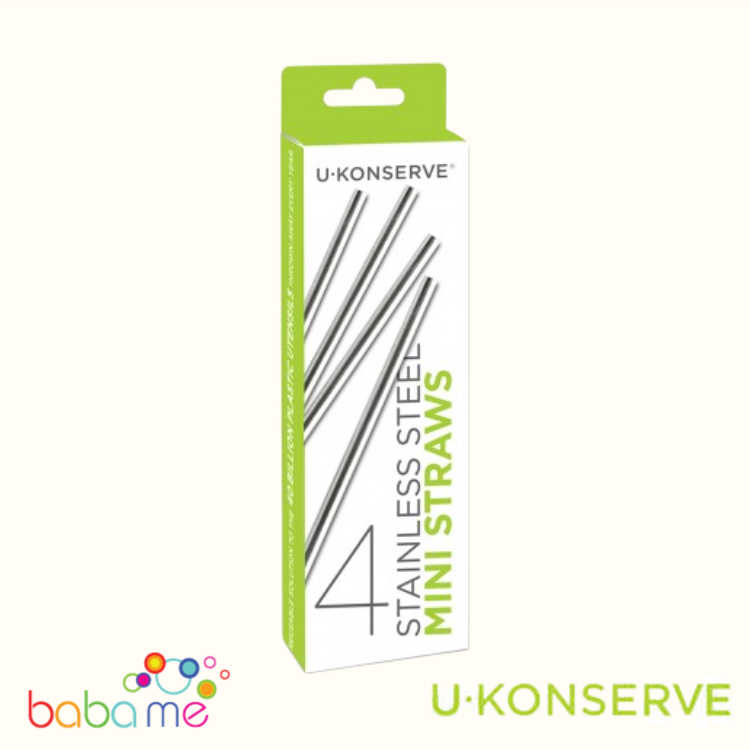 U-Konserve Stainless Steel Mini Straws 4