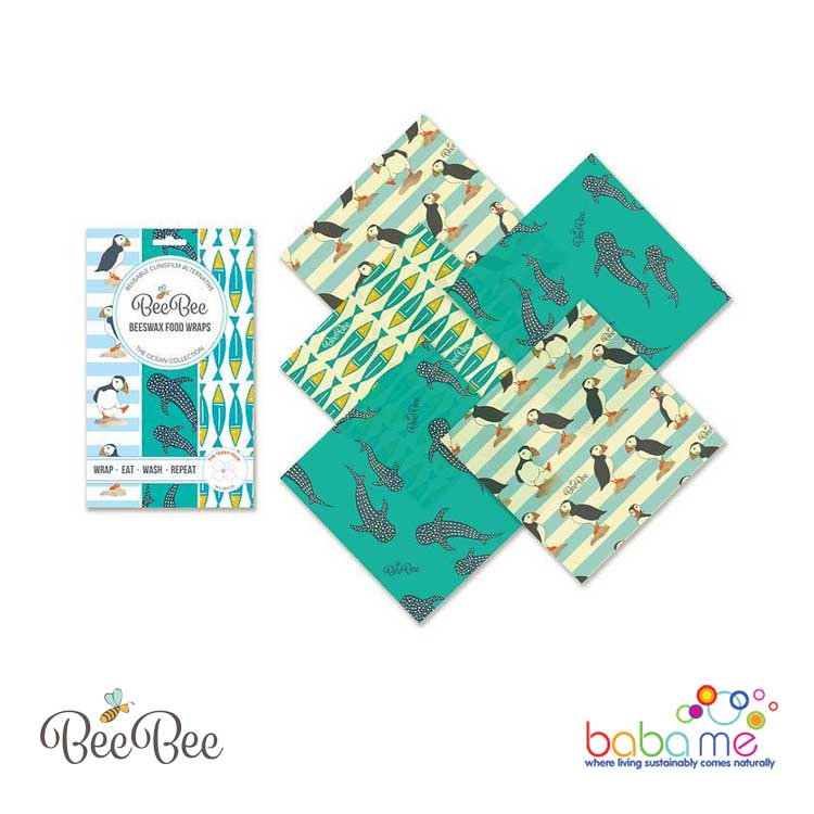 BeeBee Wraps - The Teeny Pack - Ocean