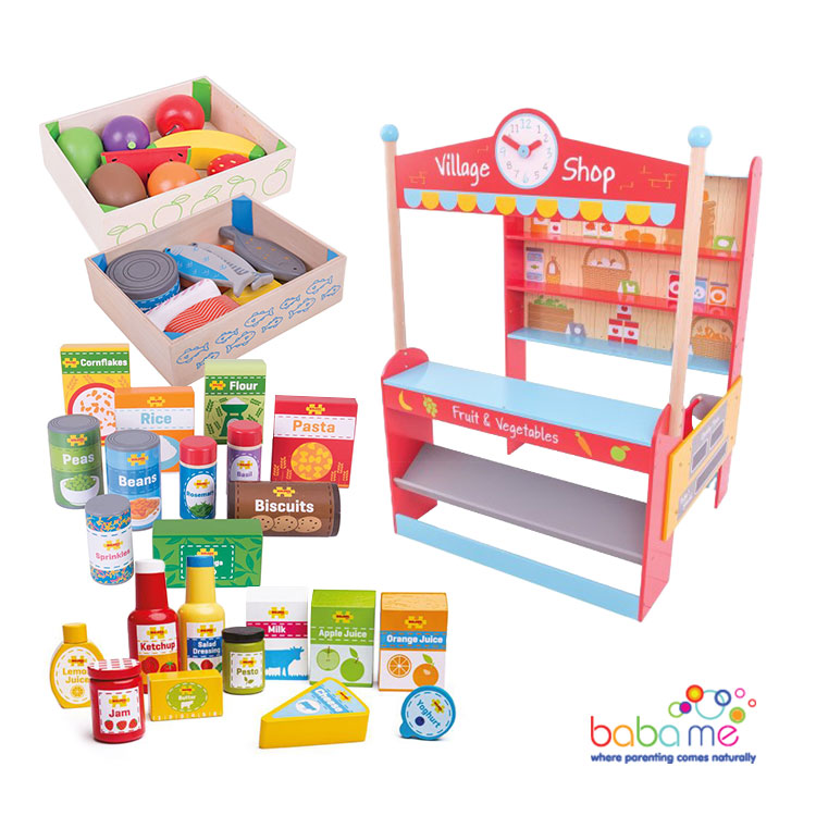 Big Jigs Village Shop Food Bundle