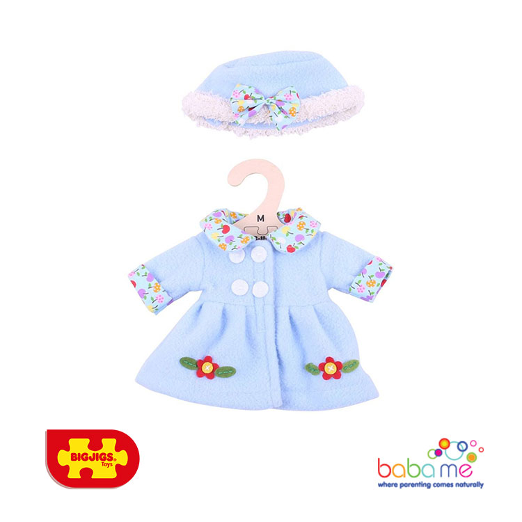 Bigjigs Blue Hat and Coat Medium