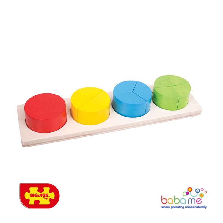 Bigjigs Circle Fraction Board