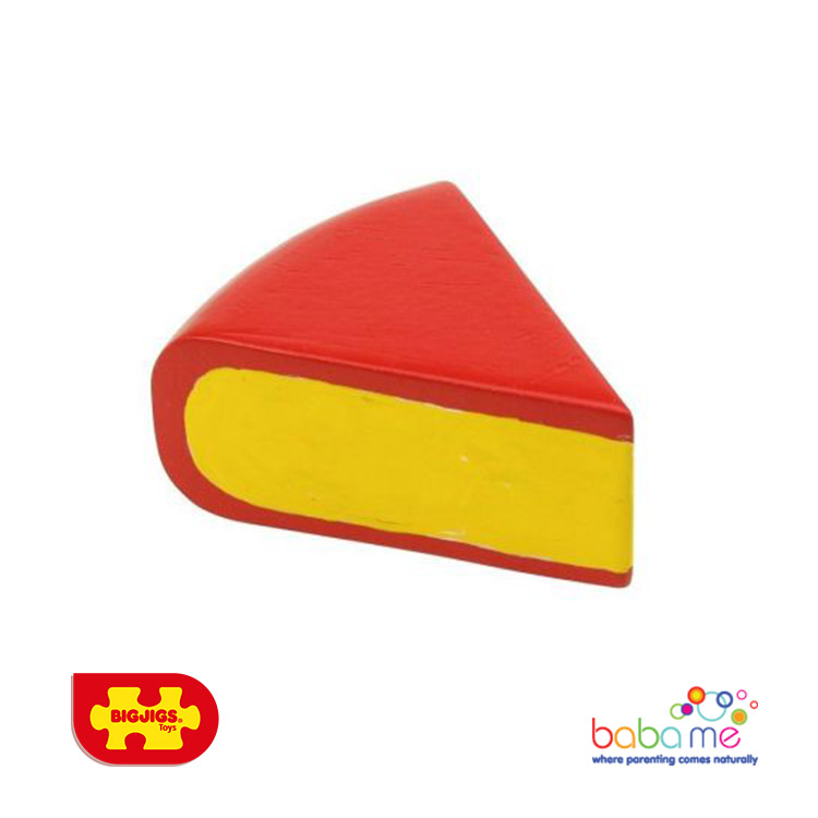 Bigjigs Edam Wooden Play Food