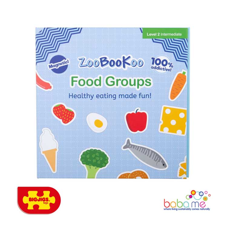 Bigjigs Magnet Book - Food Groups