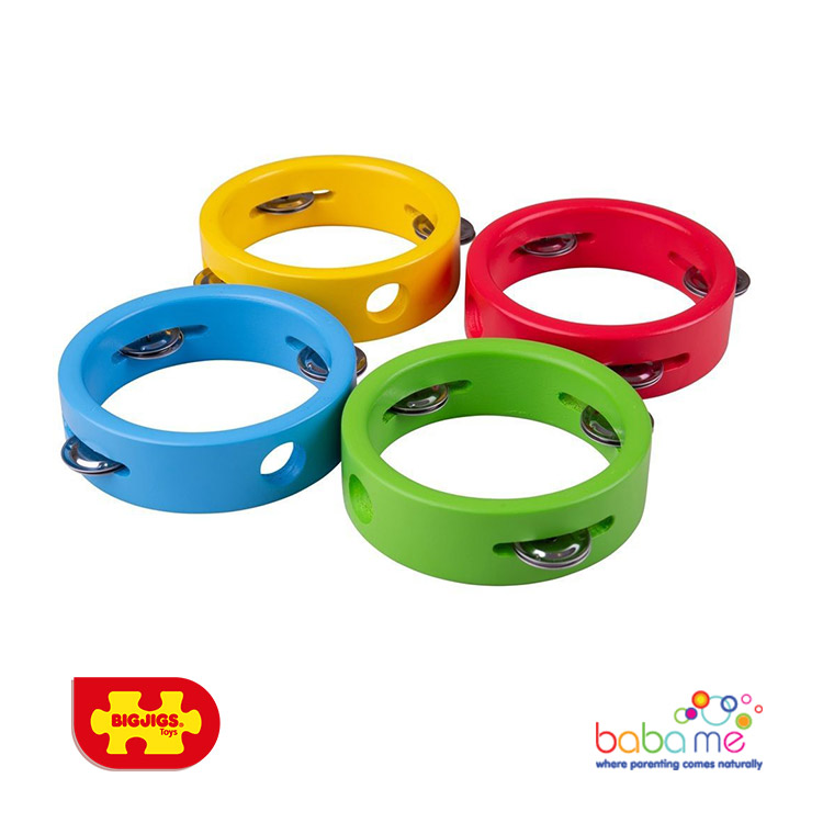 Bigjigs Mini Tambourine