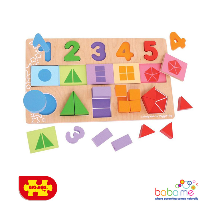 Bigjigs My First Fractions Puzzle