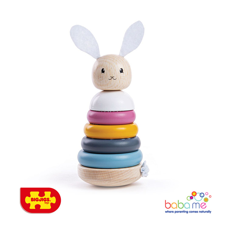 Bigjigs Rabbit Stacking Rings
