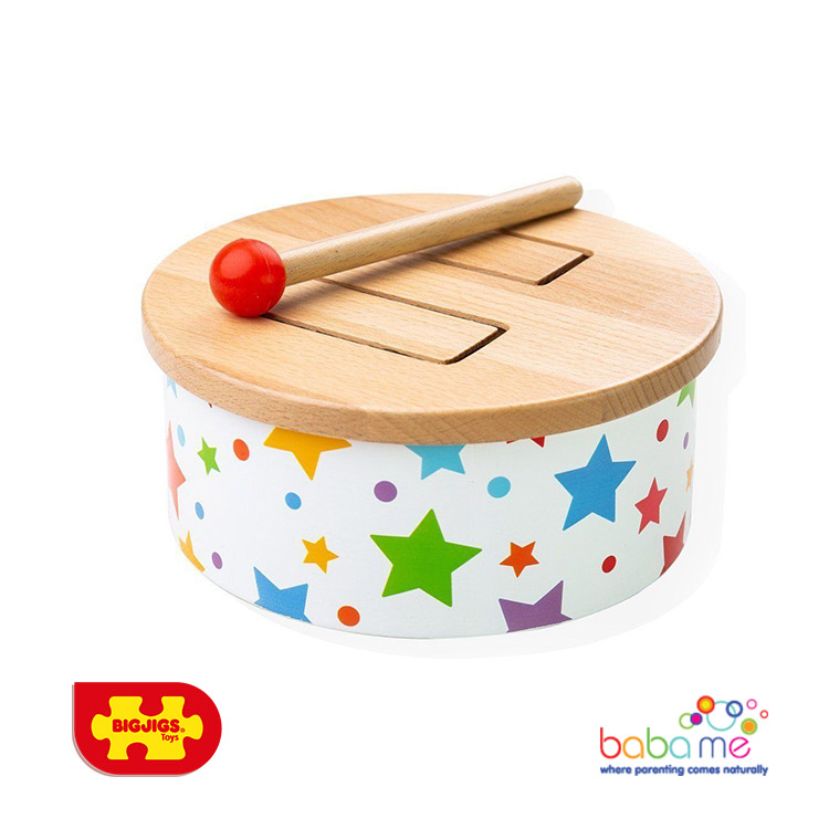 Bigjigs Wooden Drum