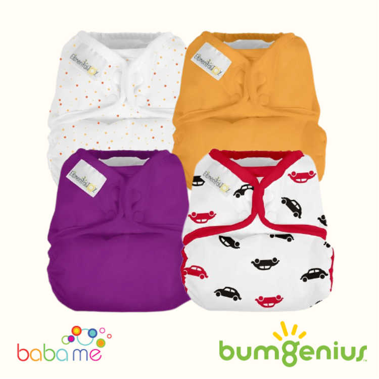 Bumgenius Elemental Joy Pocket Nappy