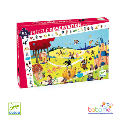 Djeco Tales Observation Puzzle