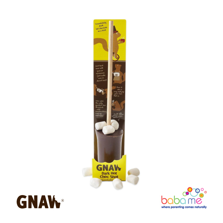 Gnaw Dark Chocolate Hot Choc Shot With Mini Marshmallows