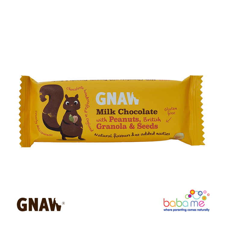 Gnaw Milk Chocolate with Peanuts