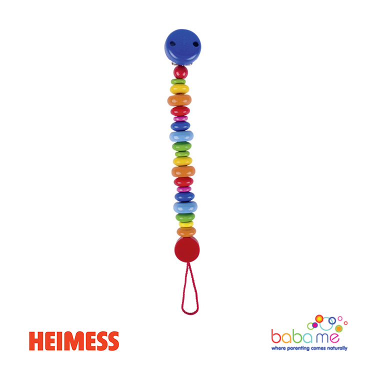Heimess Soother chain colourful lenses
