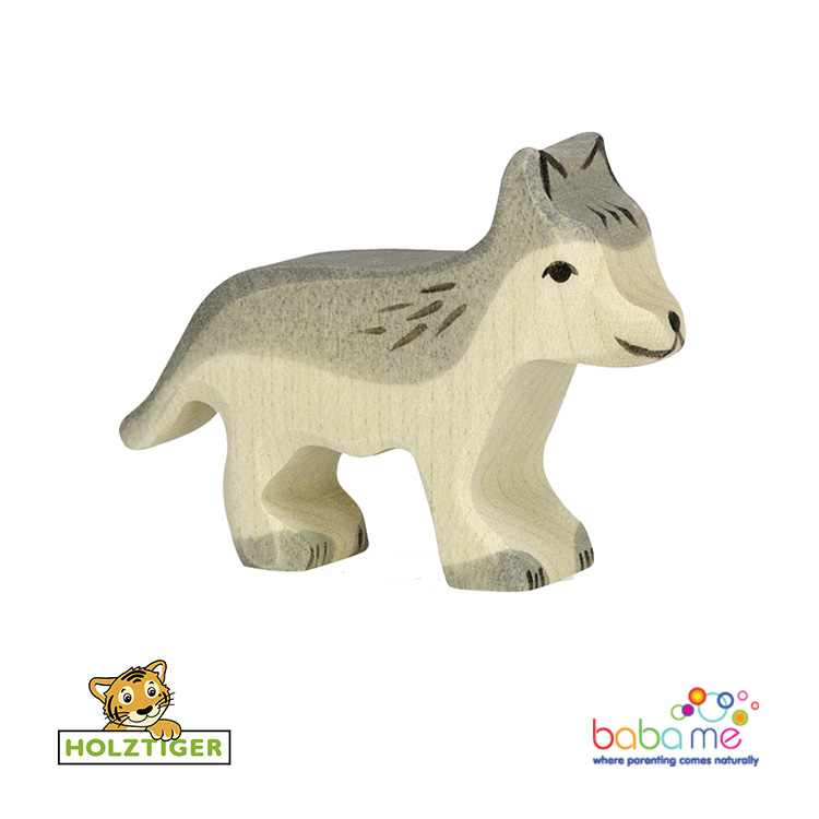 Holztiger Wolf small