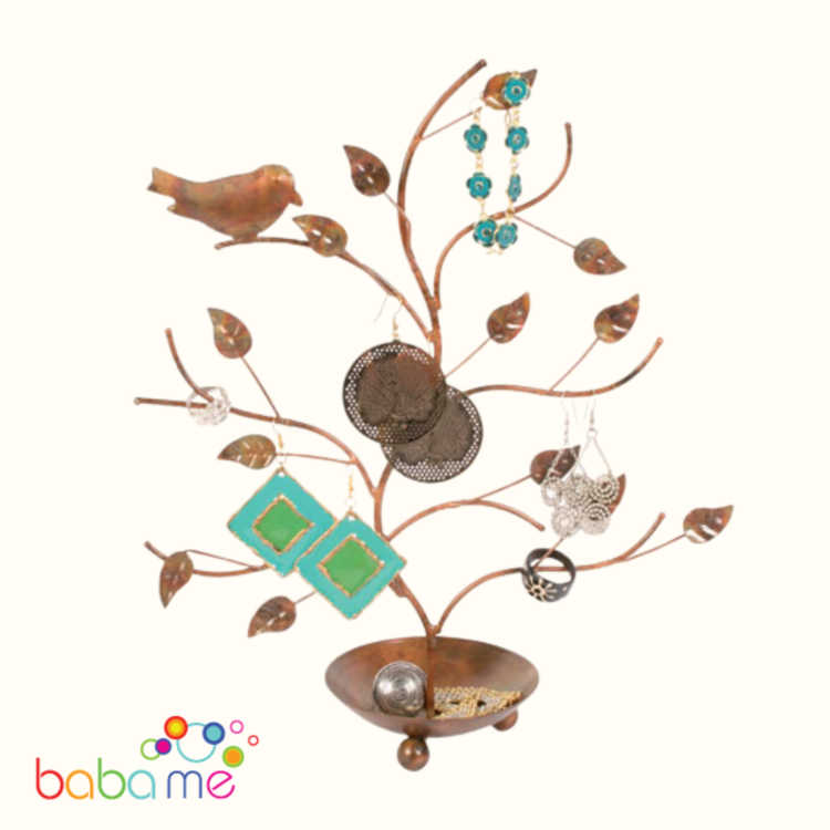 Jewellery stand Tree with bird