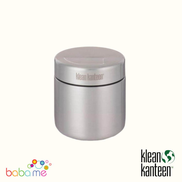 Klean Kanteen Single Wall 16oz Food Canister Brushed Stainless