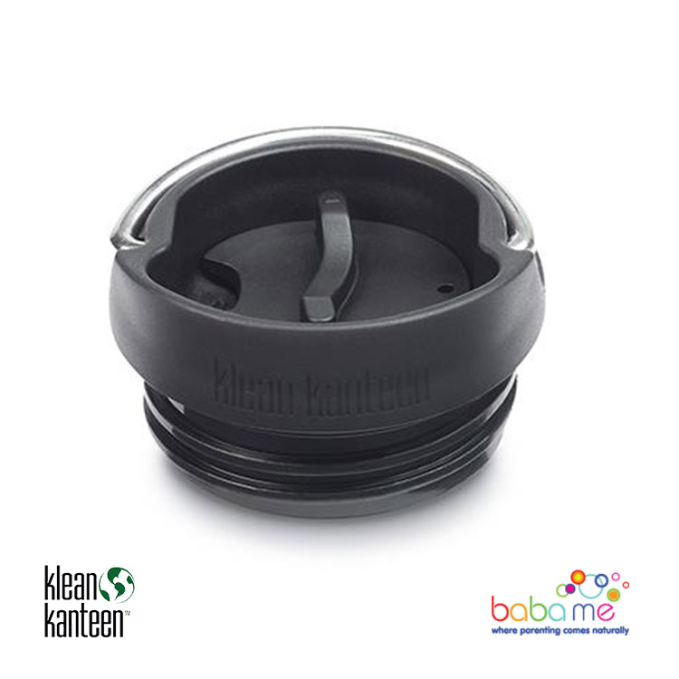 Klean Kanteen Cafe Cap Wide Bottle Black
