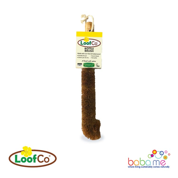 Loofco Coconut Fibre Bottle Brush