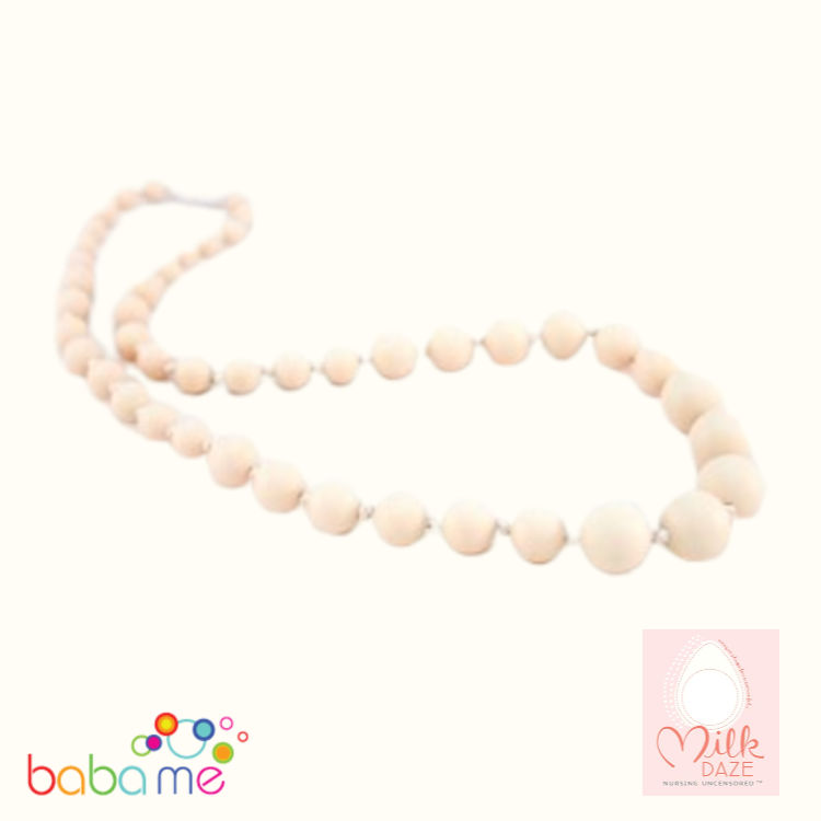 MilkDaze Mariella Breastfeeding Necklace cream