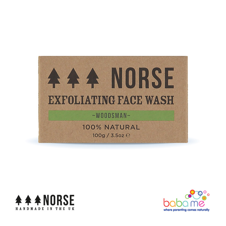 Norse Exfoliating Face Wash Woodsman