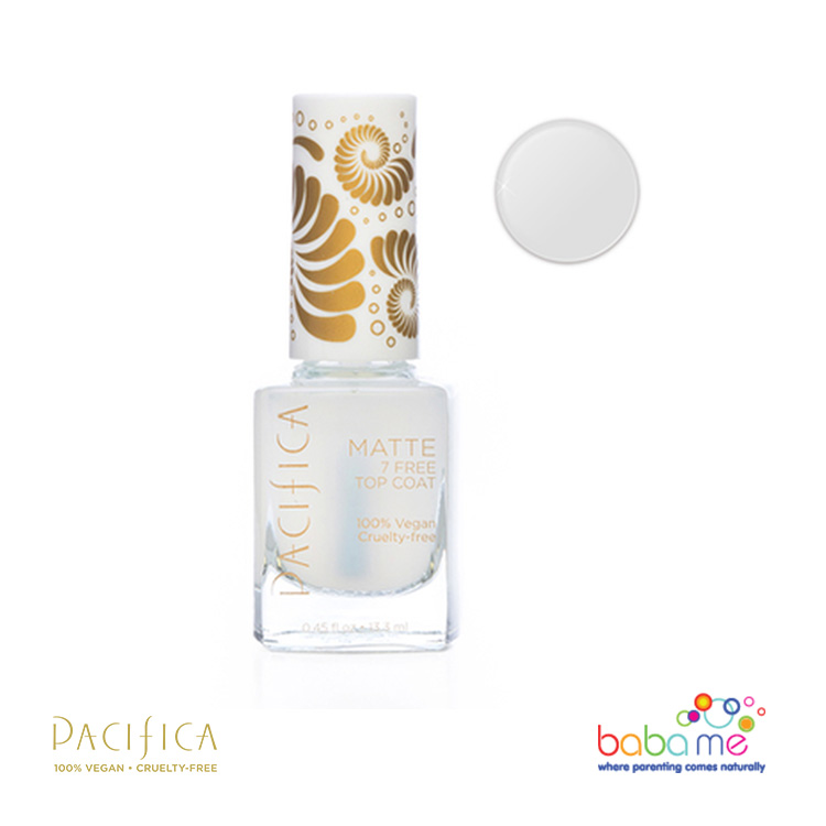 Pacifica Nail Polish Matte Top Base Coat