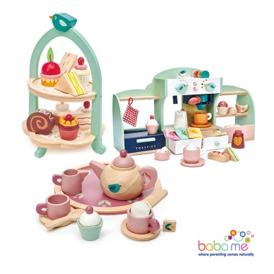 Tender Leaf Toys Bird's Nest Cafe Bundle